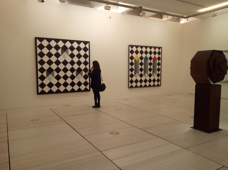 Carmen Quinteiro en el Museo de Pontevedra