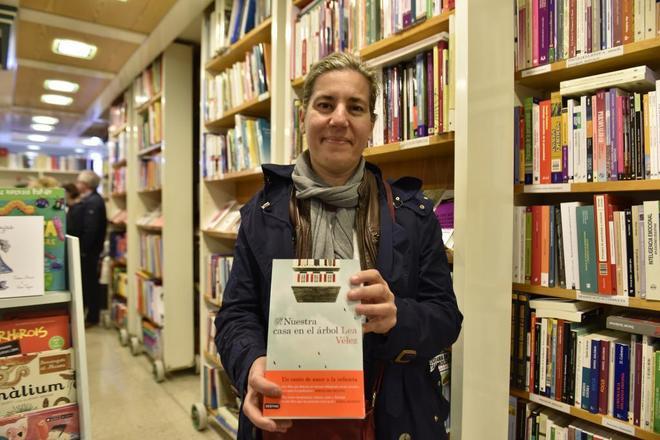 """Lea Vélez, autora de """"Nuestra casa en el árbol"""""""