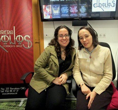 Carla y Sileny son las dos valencianas que etsán detrás del proyecto de Adopta una autora
