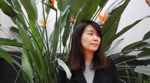 "La escritora coreana Han Kang, autora de ""La vegetariana"""