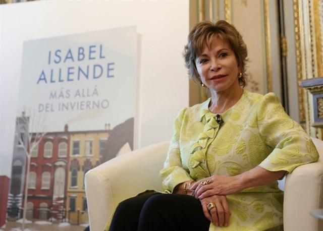 """Isabel Allende, autora de """"Más allá del invierno"""""""