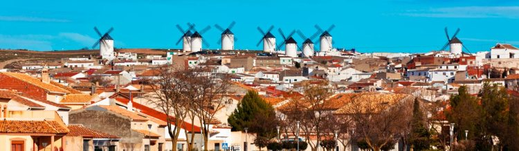 Pueblos castellanos como Criptana del Campo están plagados de elementos que nos recuerdan las aventuras quijotescas