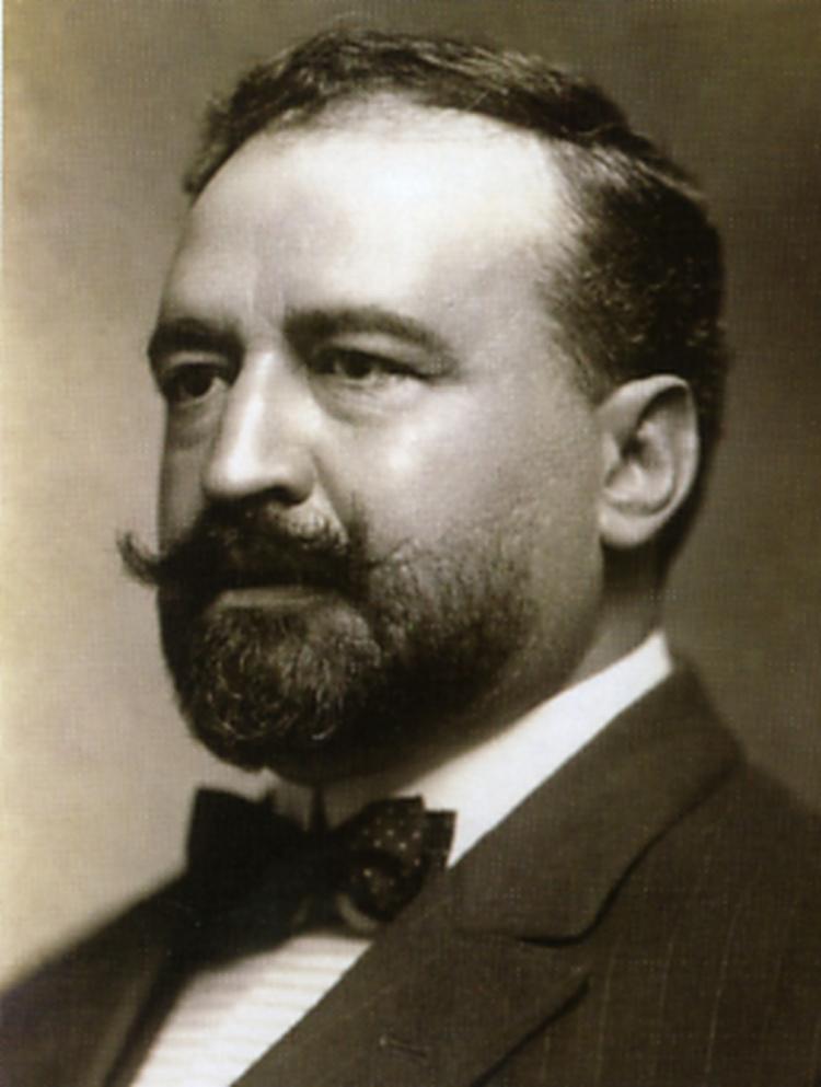 """Vicente Blasco Ibáñez, autor de """"Flor de mayo"""""""