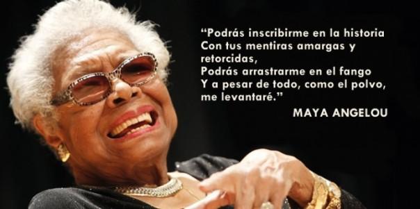 """Maya Angelou, autora de """"Yo sé por qué canta el pájaro enjaulado"""""""