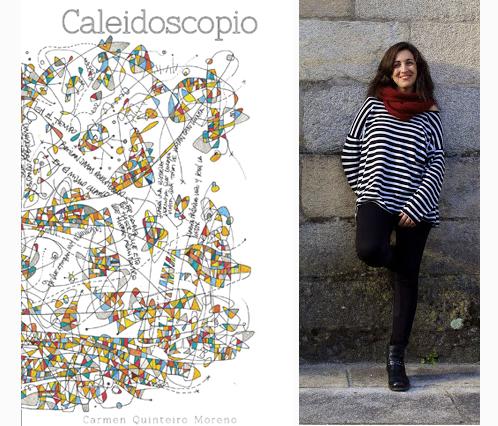 """Carmen Quinteiro se dio a conocer con su libro """"Caleidoscopio"""""""