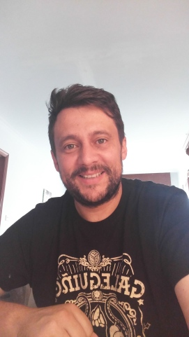 O autor Miguel Ángel Alonso Diz
