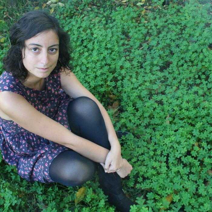 """Andrea Barreira, autora de """"Non hai luz sen escuridade"""""""