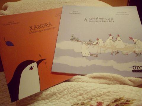 """Os libros perfectos para soñar: """"A Brétema"""" de María José Moreno e """"Xandra a landra que quería voar"""" de Mercedes Queixas Zas"""
