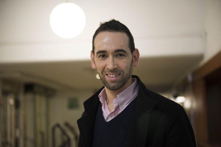 """Gerardo Rodríguez Salas, autor del libro de relatos """"Hijas de un sueño"""""""