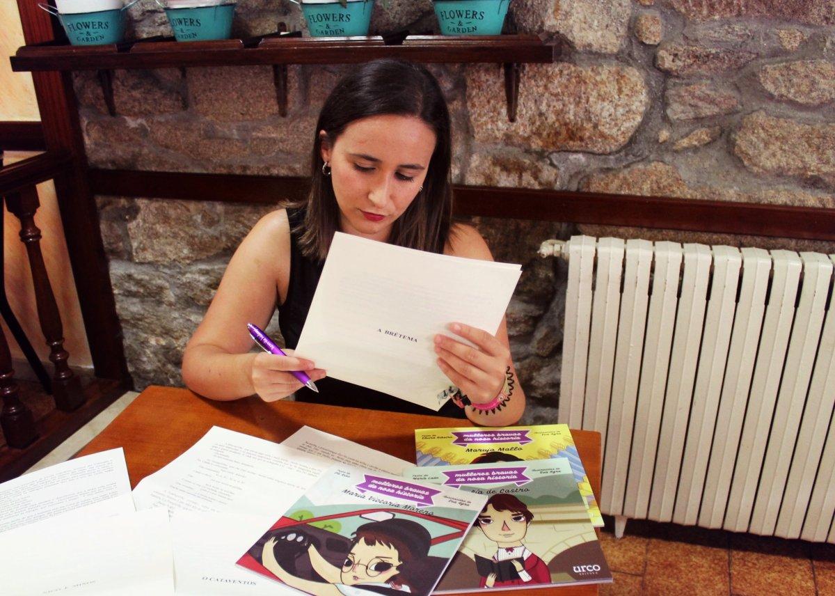 """Entrevista Andrea Jamardo Seijo, de Urco Editora: """"A editorial naceu en plena crise así que xa vai no noso ADN a loita continua"""""""