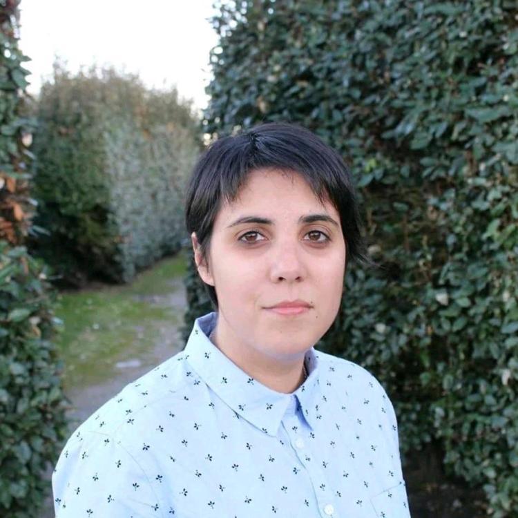 """Miriam Beizana Vigo, autora de """"Inflorescencia"""""""