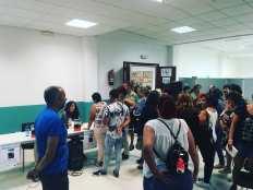 Presentación de María Oruña en Bueu (Pontevedra)
