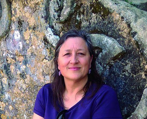 A poeta viguesa Marta Dacosta