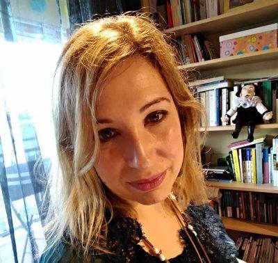 """Inma López Silva, autora de """"Chámame señora, pero trátame coma a un señor"""""""