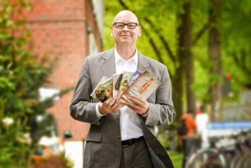 Ralf Beekveld, director de la editorial Lectura para todos