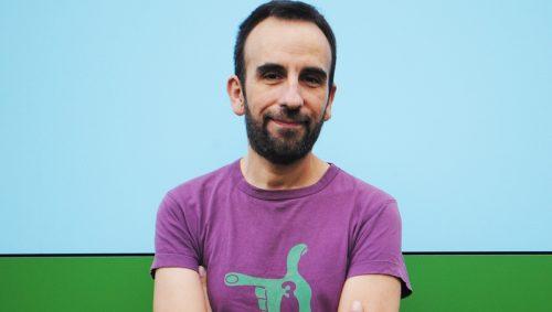"Daniel Asorey, autor do poemario ""Transmatria"""