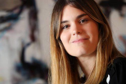 "Elvira Sastre, autora de ""Días sin ti"""