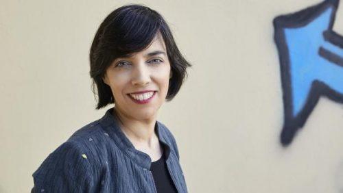 """Esther Vivas, autora del ensayo """"Mamá desobediente"""""""