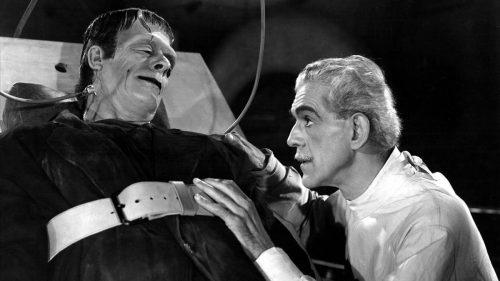 """Un fotograma de la película de """"Frankenstein"""""""