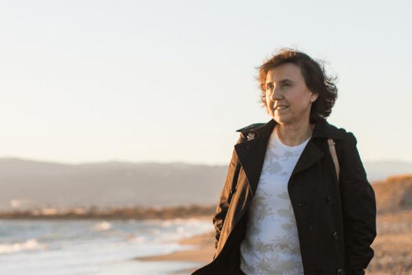 "Pepa Calero, autora del libro ""Leer, viajar, estar vivos"""