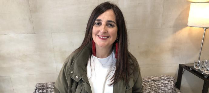 """Arantza Portabales, autora de """"Beleza vermella"""""""