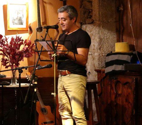 """Benito Piñeiro Sanjorge, autor del poemario """"Los créditos del equilibrio"""""""