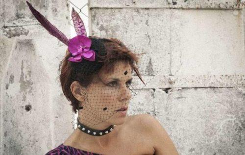 "Silvia Penas Estévez, autora do poemario ""Fronteira paraíso"""