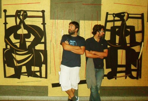 Carlos Taboada e Enrique Mauricio, grupo Polo Correo do Vento