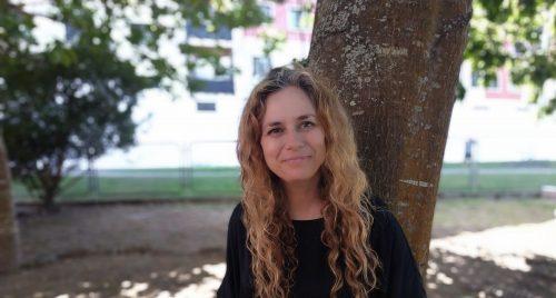 Luz Beloso, ilustradora. Foto: Iria Collazo