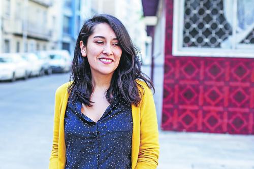 """Arelis Uribe, autora del libro de relatos """"Quiltras"""""""