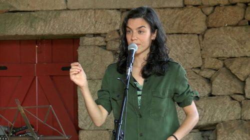 """Rosalía Fernández Rial, autora de """"Vinte en escena"""""""