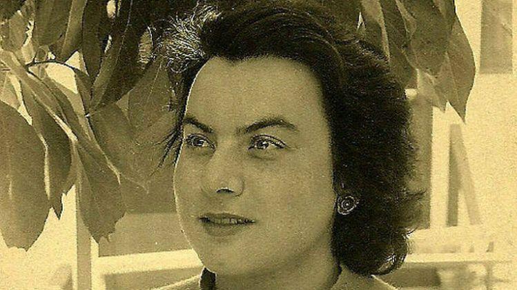 "Muriel Rukeyser, autora de la novela ""Savage Coast"""