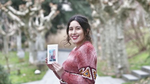 "Arancha Nogueira, autora de ""spleen en catro tempos"""