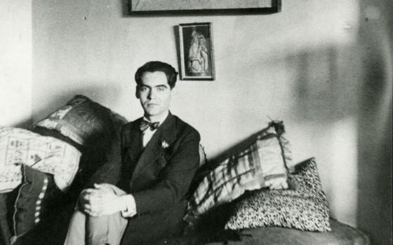 El poeta y dramaturgo Federico García Lorca