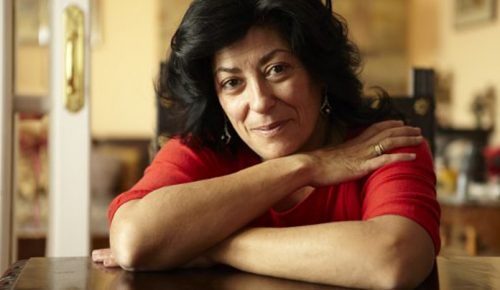 "Almudena Grandes, autora de ""La madre de Frankenstein"""