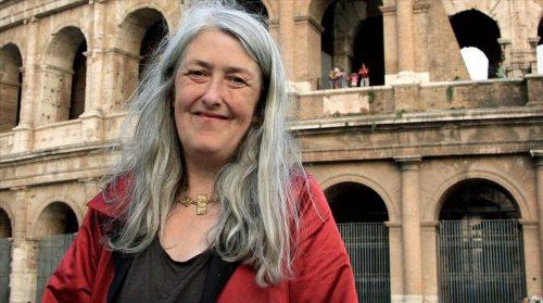 """Mary Beard, autora de """"Mulleres e poder. Un manifesto"""""""