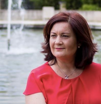 """Laura Toves, autora de """"Mecida por el viento"""""""