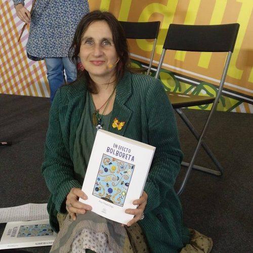 Ana Pillado Vega, 'Ana Cun Cún' estréase na novela con 'En efecto bolboreta'