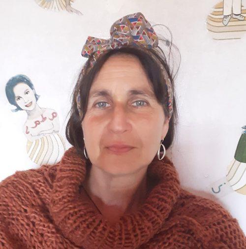 "Ana Pillado Vega, autora de ""En efecto bolboreta"""