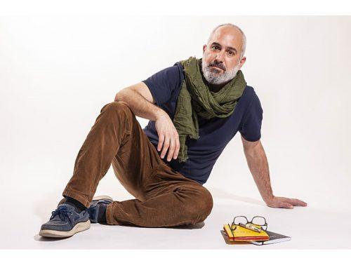 """Jorge Molinero, autora de """"La enfermera del desierto"""". Foto: Andrés García, DateCuenta"""