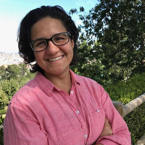 "Mirelle Nathalie Aranguren, autora de ""Arreglándome la vida"""