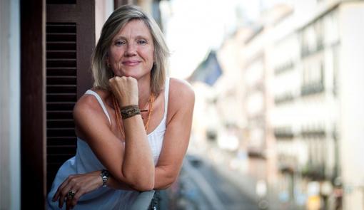 La autora gallega Cristina Sánchez - Andrade