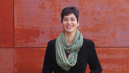 A escritora e activista galega María Reimóndez