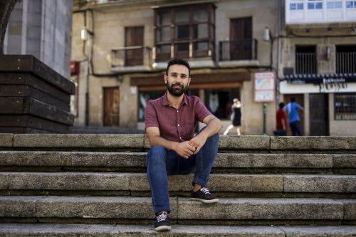 """Alberte Mera, director do documental """"Reboiras. Acción e corazón"""""""