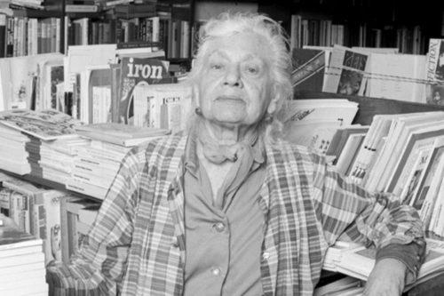 La librera Frances Steloff