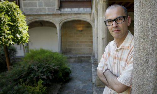 """Martín Veiga, autor de """"A ganancia e a perda"""""""