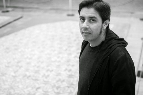 """Alberte Momán, autor do poemario """"Non venal"""""""