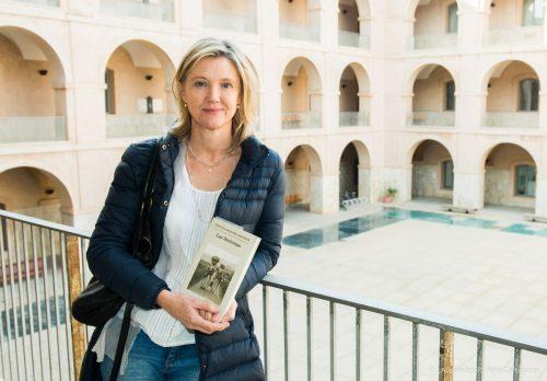 La escritora gallega Cristina Sánchez - Andrade