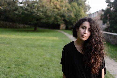 A poeta Arancha Nogueira