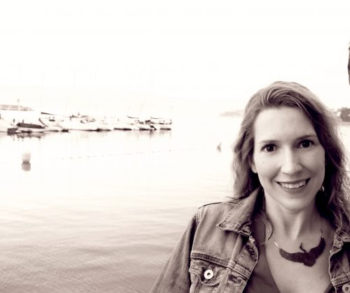 La periodista y escritora Esther Ginés